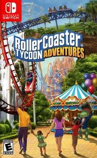 Game Box for RollerCoaster Tycoon Adventures (Switch)