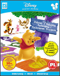 Okładka Disney's Party Time With Winnie The Pooh: Action Game (PC)