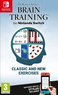 Game Box for Dr Kawashima's Brain Training for Nintendo Switch (Switch)