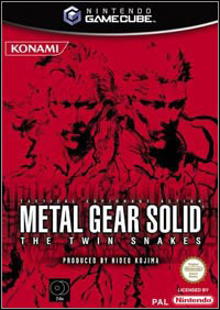 Game Box for Metal Gear Solid: The Twin Snakes (GCN)