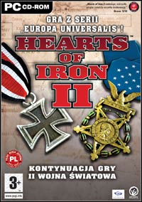 Okładka Hearts of Iron 2 (PC)