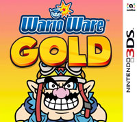 Game Box for WarioWare Gold (3DS)