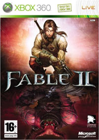 Game Box for Fable II (X360)