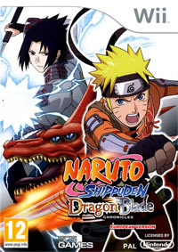 Game Box for Naruto Shippuden: Dragon Blade Chronicles (Wii)