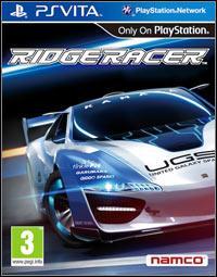 Okładka Ridge Racer (2012) (PSV)