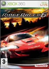 Okładka Ridge Racer 6 (X360)