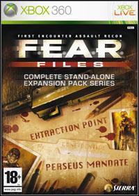 Okładka F.E.A.R. Files (X360)