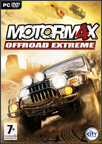 Game Box for Motorm4x: Offroad Extreme (PC)