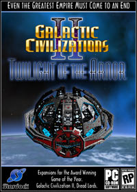 Game Box for Galactic Civilizations II: Twilight of the Arnor (PC)