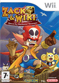Okładka Zack & Wiki: Quest for Barbaros' Treasure (Wii)