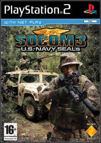 Okładka SOCOM 3: U.S. Navy SEALs (PS2)
