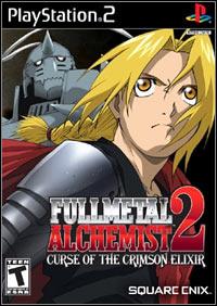 Okładka Fullmetal Alchemist 2: Curse of the Crimson Elixir (PS2)