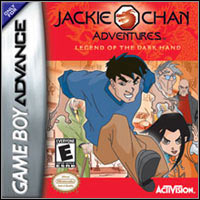 Game Box for Jackie Chan Adventures: The Legend of the Dark Hand (GBA)