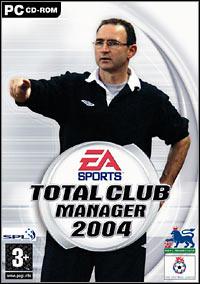 Okładka Total Club Manager 2004 (PC)