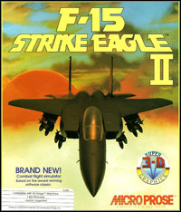 Okładka F-15 Strike Eagle II (PC)