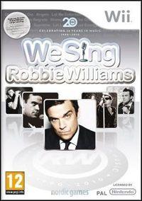 Okładka We Sing: Robbie Williams (Wii)