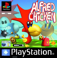 Game Box for Alfred Chicken (PS1)