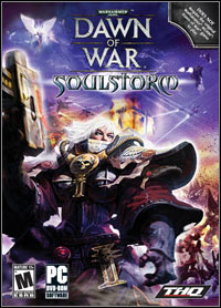 Game Box for Warhammer 40,000: Dawn of War - Soulstorm (PC)