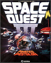 Okładka Space Quest III: The Pirates of Pestulon (PC)