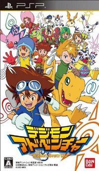 Game Box for Digimon Adventure (PSP)