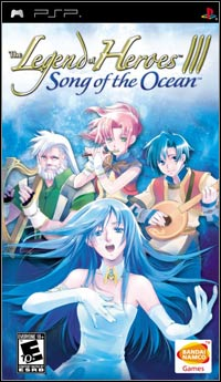 Okładka The Legend of Heroes III: Song of the Ocean (PSP)