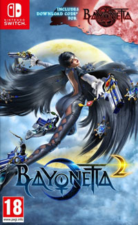Game Bayonetta 2 (WiiU) cover
