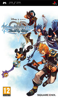 Okładka Kingdom Hearts: Birth by Sleep (PSP)