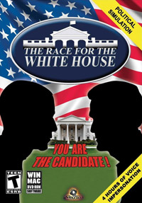 Game Box for The Race for the White House (PC)