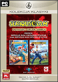 Game Box for Serious Sam: Zlota Edycja (PC)