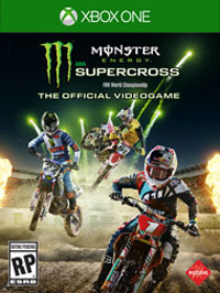 Game Monster Energy Supercross: The Official Videogame (PC) cover