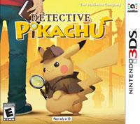 Okładka Detective Pikachu (3DS)