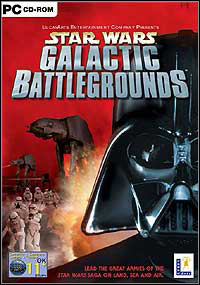 Okładka Star Wars: Galactic Battlegrounds (PC)