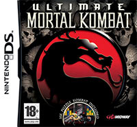 Game Box for Ultimate Mortal Kombat (NDS)
