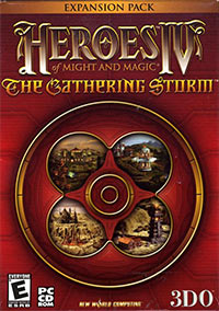 Okładka Heroes of Might and Magic IV: The Gathering Storm (PC)