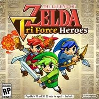 Okładka The Legend of Zelda: Tri Force Heroes (3DS)