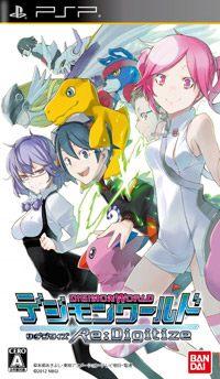 Okładka Digimon World Re:Digitize (PSP)