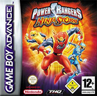 Okładka Power Rangers Ninja Storm (GBA)