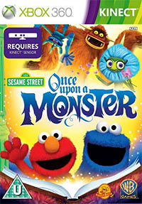Game Box for Sesame Street: Once Upon a Monster (X360)