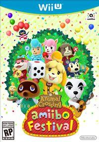 Okładka Animal Crossing: Amiibo Festival (WiiU)