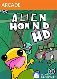 Game Box for Alien Hominid HD (X360)