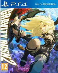 Game Box for Gravity Rush 2 (PS4)