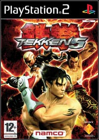 Okładka Tekken 5 (PS2)