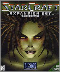 Game StarCraft: Brood War (PC) cover