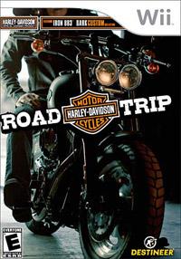 Okładka Harley Davidson: Road Trip (Wii)