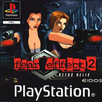Okładka Fear Effect 2: Retro Helix (PS1)