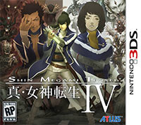 Okładka Shin Megami Tensei IV (3DS)