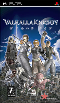 Okładka Valhalla Knights (PSP)
