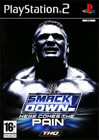 Okładka WWE SmackDown! Here Comes The Pain (PS2)