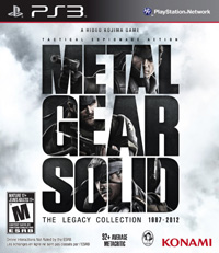 Game Box for Metal Gear Solid: The Legacy Collection (PS3)