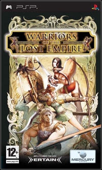 Okładka Warriors of the Lost Empire (PSP)